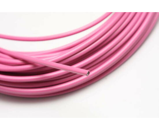 Spyral Color teflonos fékbowden-ház, 5 mm, rózsaszín