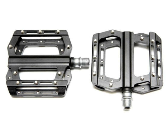 Spyral Branch Elite 30 ipari csapágyas alumínium platform pedál, cserélhető tüskékkel, fekete