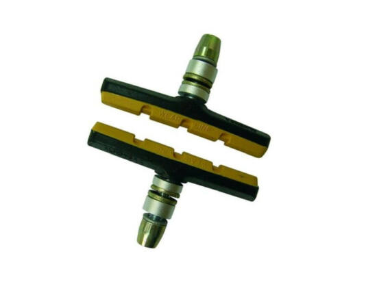 Spyral Analogue menetes fékpofa, 70 mm-es, fekete-sárga