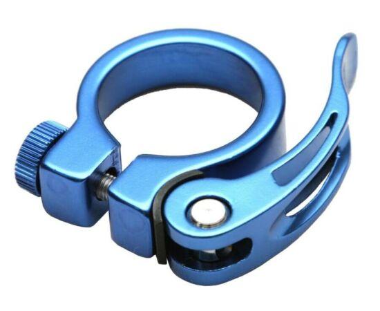 Spyral Analogue gyorszáras  nyeregcső bilincs, 34,9 mm, kék