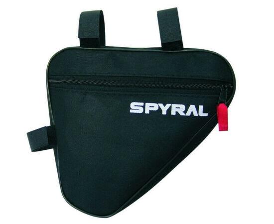 Spyral Basic háromszög váztáska, 20x20x5 cm, 1L, 2 részes, fekete