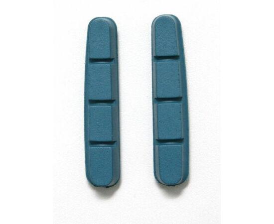 Spyral csere fékbetét gumi Shimano országúti fékhez, karbon kerékhez, kék