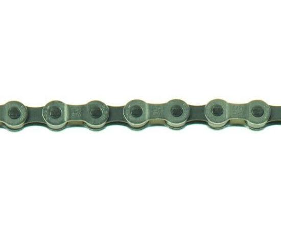 Sram PC 870 kerékpár lánc, 8s, 114 szem, patentszemmel, ezüst