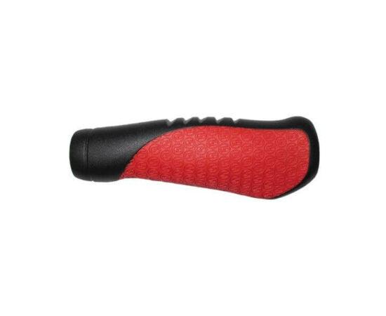 Sram ergonomikus markolat, 120 mm, fekete-piros