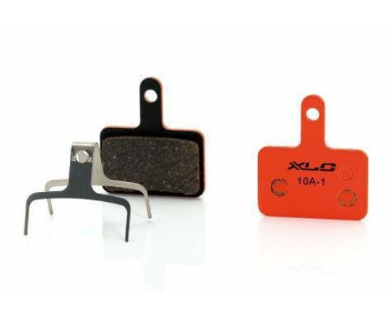 XLC BP-O01 tárcsafék fékbetét Tektro IO fékhez, acél alap, organikus pofa, 1 pár
