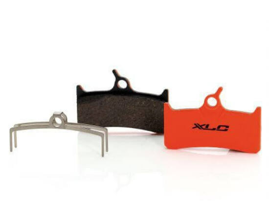 XLC BP-O10 tárcsafék fékbetét Shimano M755 és Grimeca fékekhez, acél alap, organikus pofa, 1 pár
