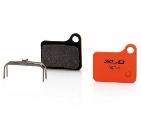 XLC BP-O12 tárcsafék fékbetét Shimano Deore, Nexave fékez, acél alap, organikus pofa, 1 pár