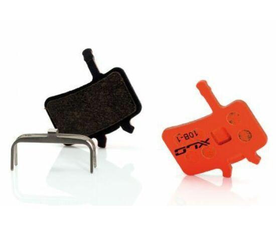 XLC BP-O24 tárcsafék fékbetét Avid Juicy 3-5 és BB7 fékhez, acél alap, organikus pofa, 1 pár