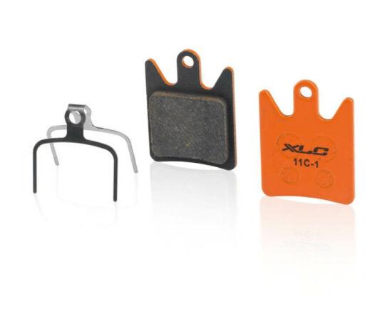 XLC BP-O29 tárcsafék fékbetét Hope Moto V2 fékhez, acél alap, organikus pofa, 1 pár