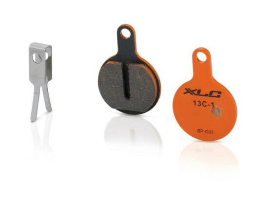 XLC BP-O33 tárcsafék fékbetét Tektro IOX, Novela fékhez, acél alap, organikus pofa, 1 pár