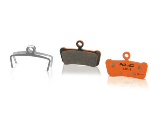 XLC BP-O34 tárcsafék fékbetét Avid XO Trail fékhez, acél alap, organikus pofa, 1 pár