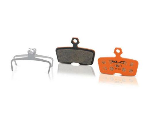 XLC BP-O35 tárcsafék fékbetét Avid Code 2011 fékhez, acél alap, organikus pofa, 1 pár