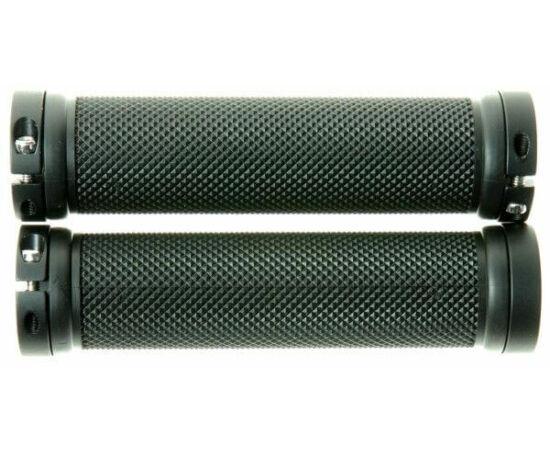 Zoggie bilincses markolat, 120 mm, fekete, fekete bilinccsel