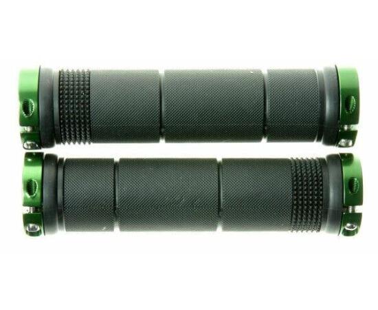 Zoggie bilincses markolat, 132 mm, fekete, zöld bilinccsel