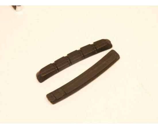 Zoggie csere fékbetét gumi V-fékhez, fekete