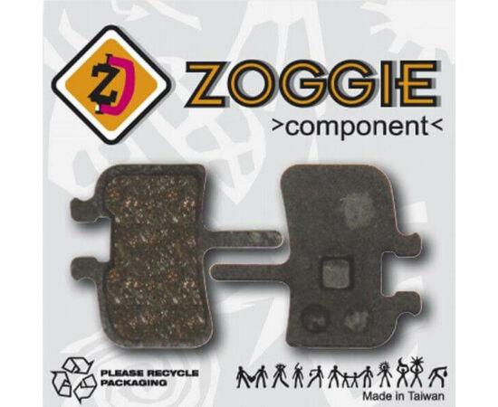 Zoggie fékbetét BB7 és Juicy tárcsafékhez, acél alap - organikus pofa