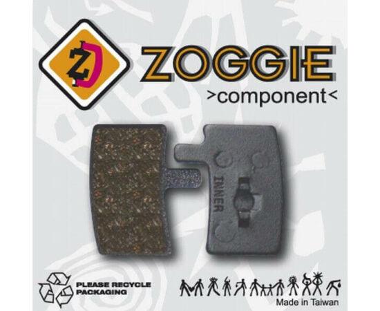 Zoggie fékbetét Hayes Stroker tárcsafékhez, acél alap - szintetikus pofa