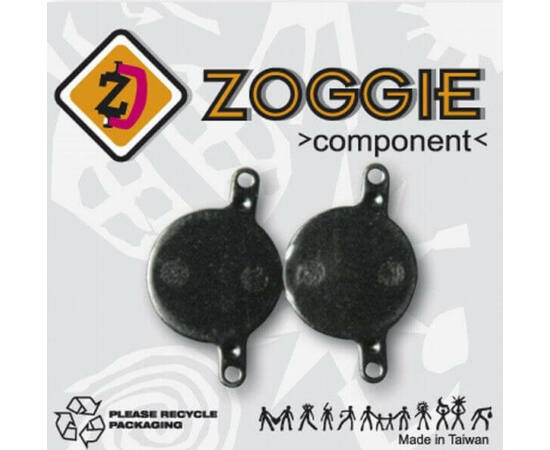 Zoggie fékbetét Magura Julie tárcsafékhez, acél alap - szintetikus pofa