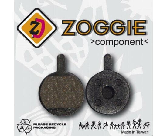 Zoggie fékbetét Promax tárcsafékhez, acél alap - szintetikus pofa