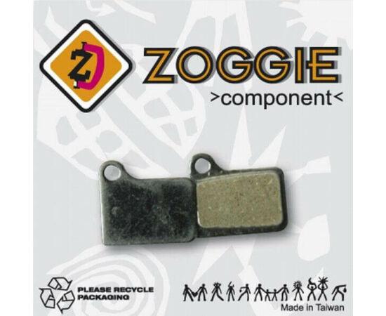 Zoggie fékbetét Shimano Deore tárcsafékhez, acél alap - szintetikus pofa