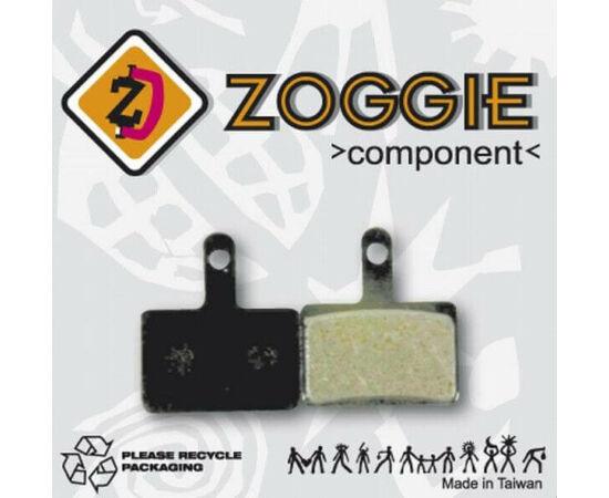 Zoggie fékbetét Shimano Deore tárcsafékhez, acél alap - organikus pofa