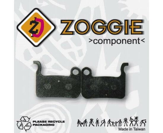 Zoggie fékbetét Shimano XTR, Saint tárcsafékhez, acél alap - szintetikus pofa