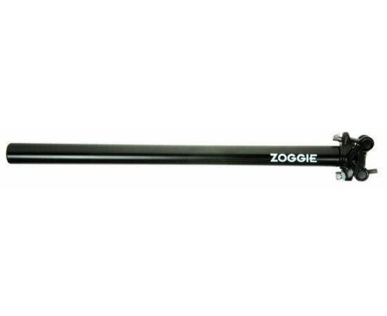 Zoggie nyeregcső 25,6x400 mm fekete