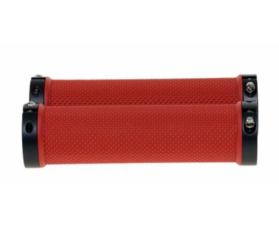 Zoggie bilincses markolat, 120 mm, piros, fekete bilinccsel