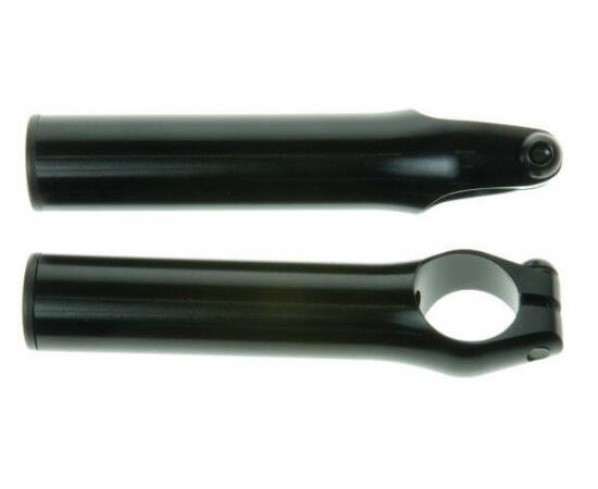 Zoggie alumínium kormányszarv, 100 mm, fekete
