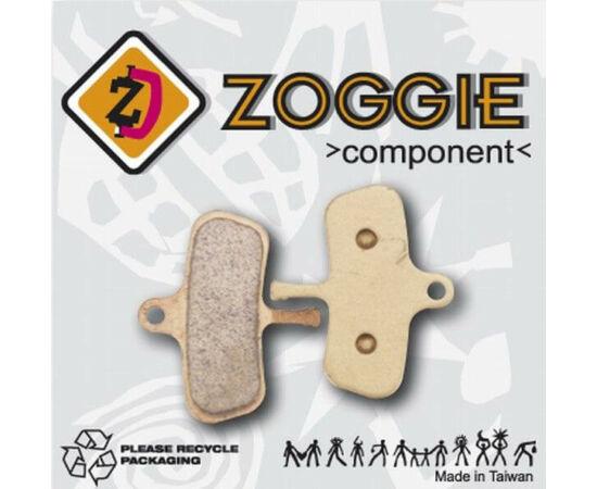 Zoggie fékbetét Avid Code 2010 tárcsafékhez, acél alap, szinteres (fémes) pofa