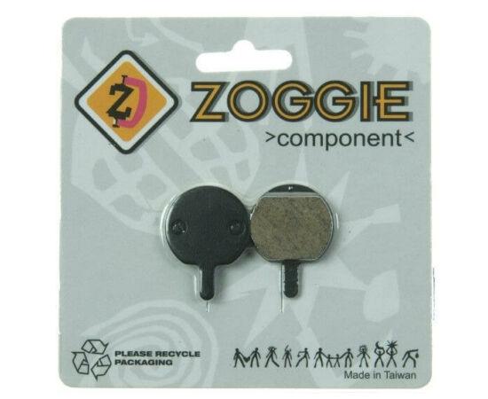 Zoggie fékbetét Hayes Sole tárcsafékhez, acél alap - organikus pofa