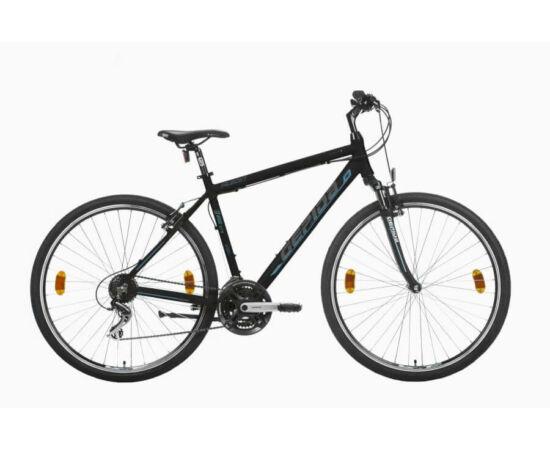 Gepida Alboin 200 CRS PRO alu 28-as férfi cross kerékpár, 21s, 56 cm, fekete-kék