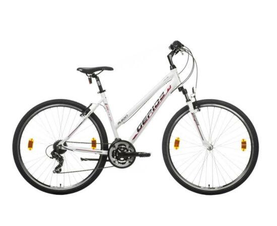 Gepida Alboin 200 CRS alu 28-as női cross kerékpár, 21s, 52 cm, fehér