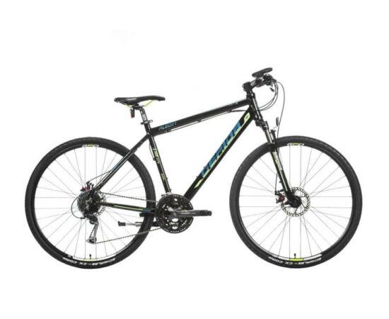 Gepida Alboin 300 CRS PRO alu 28-as férfi cross kerékpár, 24s, 52 cm, fekete-kék