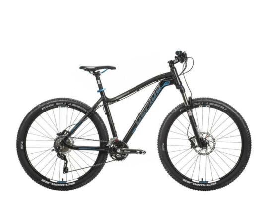 Gepida Asgard alu 27,5-es MTB kerékpár, 30s, 21 col, fekete