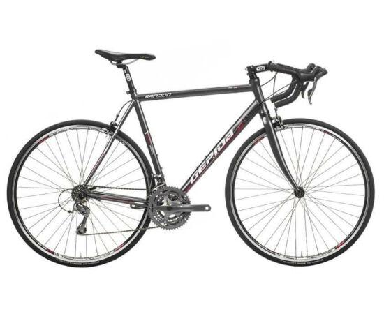 Gepida Bandon 810 alumínium országúti kerékpár, 52 cm, 24s, szürke