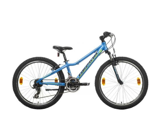 Gepida Gilpil 500 24-es junior kerékpár, 21s, alu, 29 cm, kék