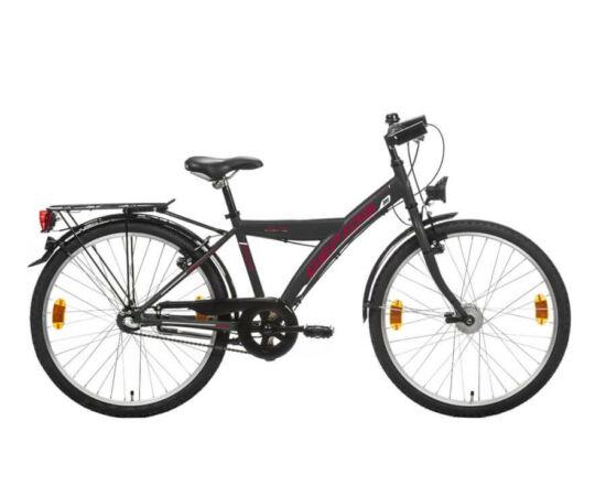Gepida Gilpil 200 24-es junior kerékpár, 3s (agyváltós), acél, 35 cm, szürke