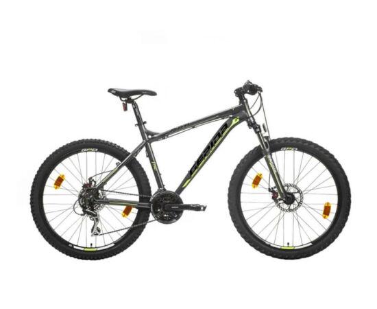 Gepida Mundo Pro alu 26-es MTB kerékpár, 21s, 17 col, matt szürke