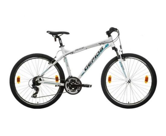 Gepida Mundo alu 26-es MTB kerékpár, 21s, 15 col, fekete-sárga