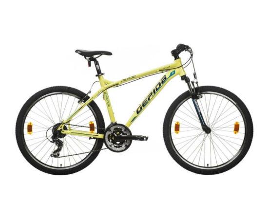 Gepida Mundo alu 26-es MTB kerékpár, 21s, 21 col, sárga