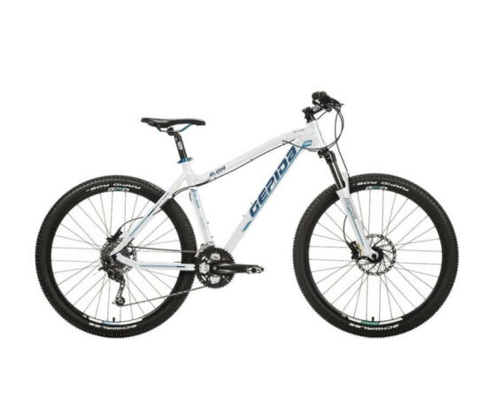 Gepida Ruga alu 27,5-es MTB kerékpár, 27s, 19 col, fehér