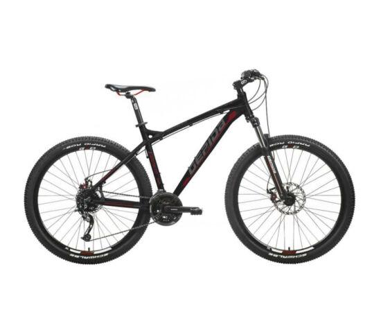Gepida Sirmium alu 27,5-es MTB kerékpár, 24s, 17 col, fekete