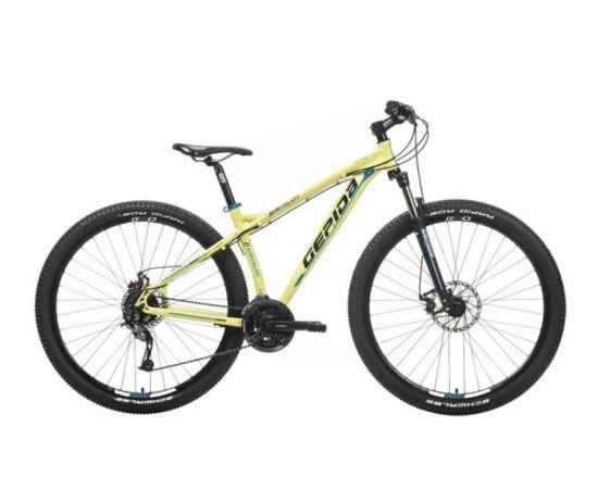Gepida Sirmium alu 29-es MTB kerékpár, 24s, 17 col, matt sárga