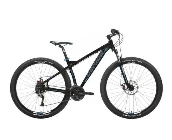 Gepida Sirmium alu 29-es MTB kerékpár, 24s, 17 col, fekete