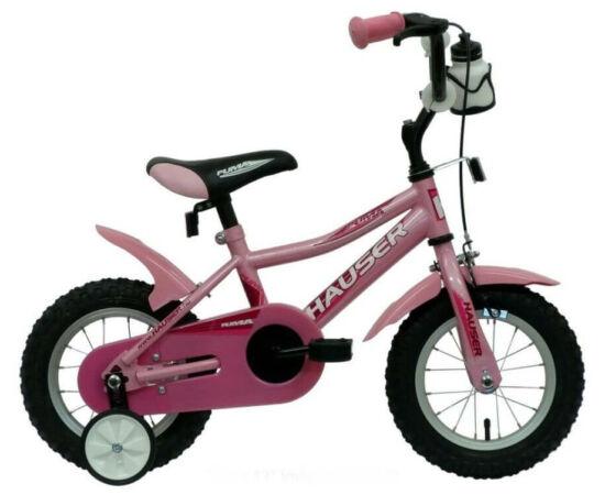 Hauser Puma 12-es BMX gyerek kerékpár, acél, világos rózsaszín