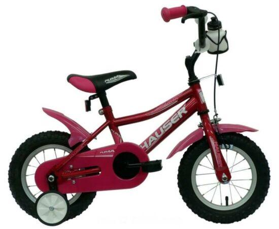 Hauser Puma 12-es BMX gyerek kerékpár, acél, sötét rózsaszín