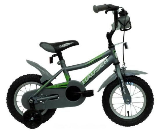 Hauser Puma 12-es BMX gyerek kerékpár, acél, matt szürke