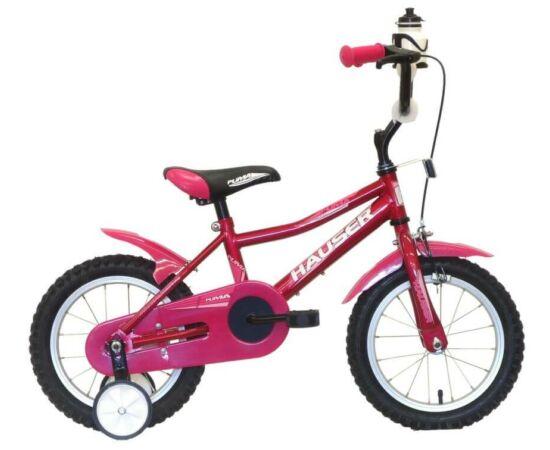 Hauser Puma 14-es BMX kerékpár, sötét rózsaszín
