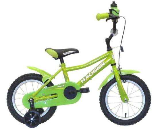 Hauser Puma 14-es BMX kerékpár, zöld